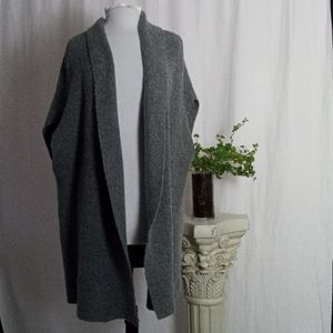 A New Day gray sweater duster one size